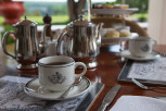 Afternoon tea at the Victoria Falls Hotel