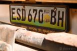 Swazi license plate