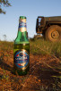 Swaziland beer during sunset safari