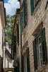 Narrow alleys in Kotor