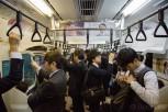 Commuting japanese, Tokyo