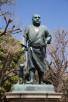 Saigo Takamori statue in Ueno Park, Tokyo