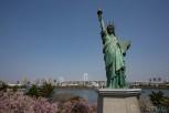 Statue of Liberty at Odaiba, Tokyo