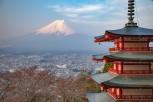 Chureito Pagoda and Mount Fuji, Kawaguchiko