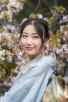 Japanese woman in her kimono, Kyoto