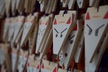 Foxes are the messengers to the Shinto rice god of Inari