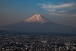Fuji-san at sunrise, Kawaguchiko