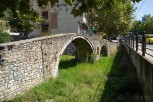 The old Tanner's Bridge, Tirana