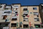 House facade, Tirana