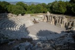 The amphitheatre at Butrint National Park