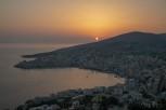 Sunset at Sarandë