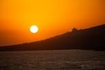 Sunset over Sarandë