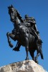 The Skanderbeg statue, Tirana