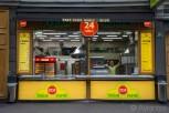 Burek fast food store