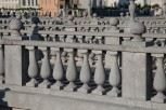 Triple Bridge on closeup, Ljubljana