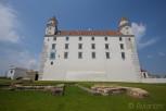Bratislava Castle side facade