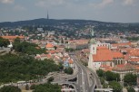 View from the UFO observation deck, Bratislava
