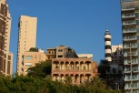 La Maison Rose and the old light house, Beirut