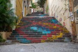 Colorful steps at Gemmayzeh, Beirut