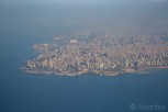 Beirut skyline and downtown