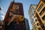 Street art at Hamra Street, Beirut