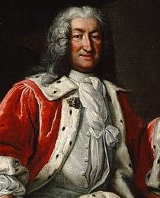 Kanslipresidenten Arvid Horn var rikets starke man och ledande statsman. Han stoppade kungens idé om att formellt utse Frisenheim till generalguvernör över Finland.