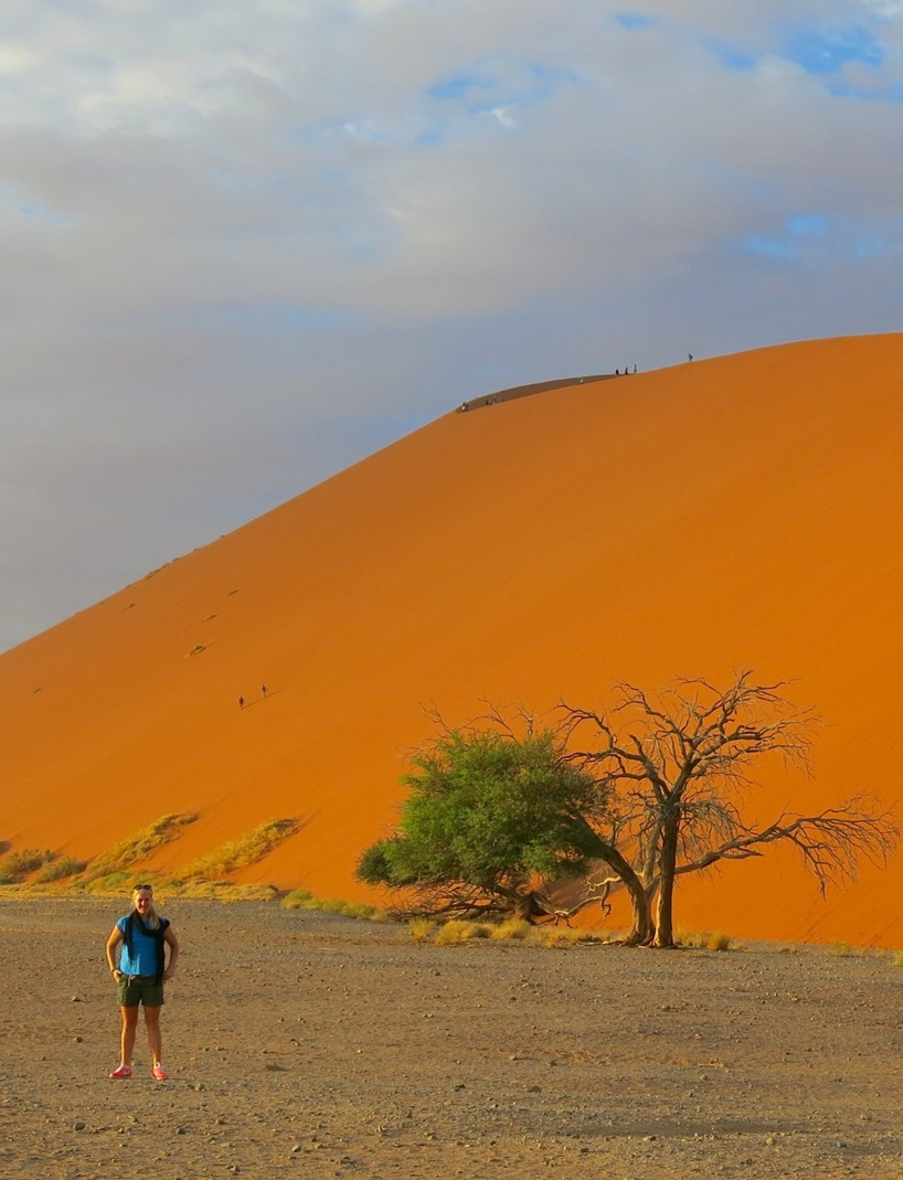 Dune 45 - världens mest fotograferade sanddyna.