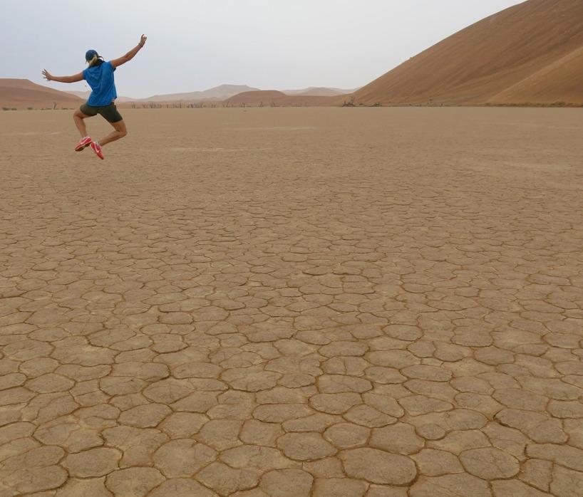 Vi fick unik upplevelse i Deadvlei vilken är en utav jordens torraste platsen på jorden!