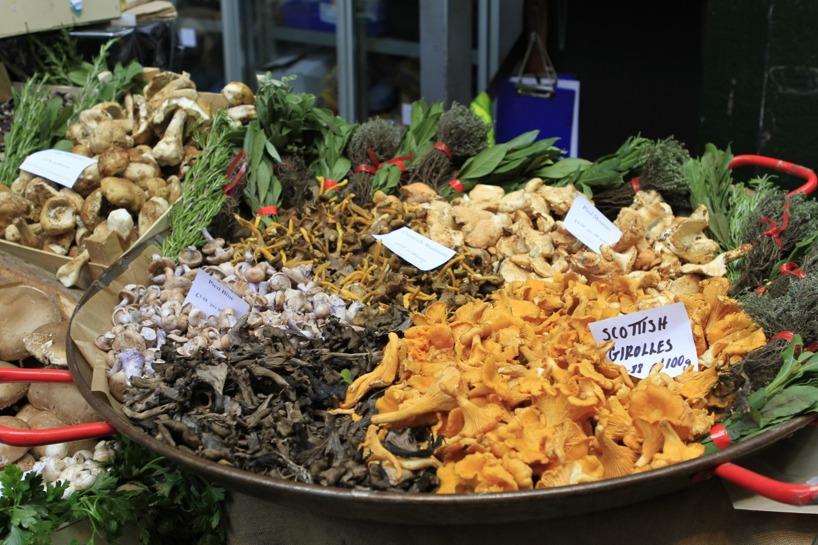 Det fanns en hel avdelning med olika svampar!!!