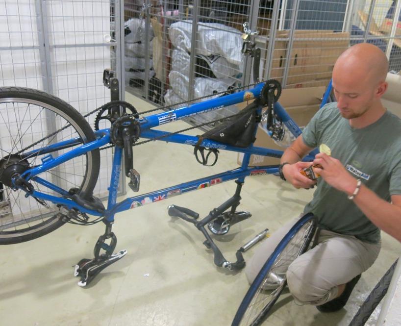 NU kör vi fokus på Vätternrundan, plåstrar om cykeln och ser till att den rullar utan att rossla!