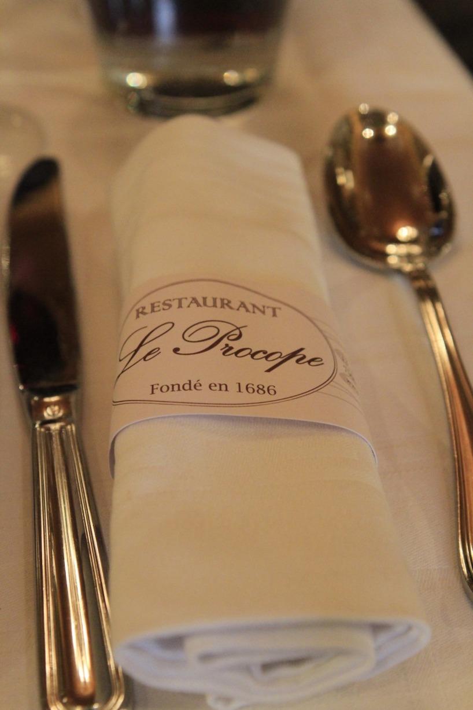 Le Procope i Paris- stadens äldsta café!