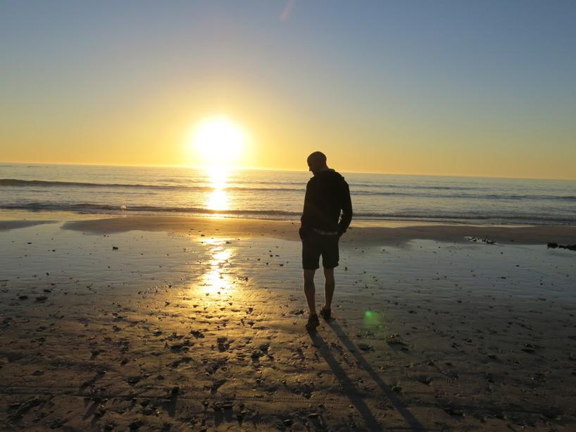 Gick ner i lördags (igår) för att skåda solnedgången!