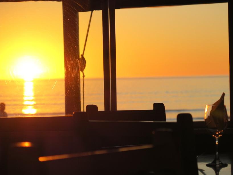 Vi hade bokat bord på Restaurangen Orca - vilket skulle bli en underbar upplevelse!