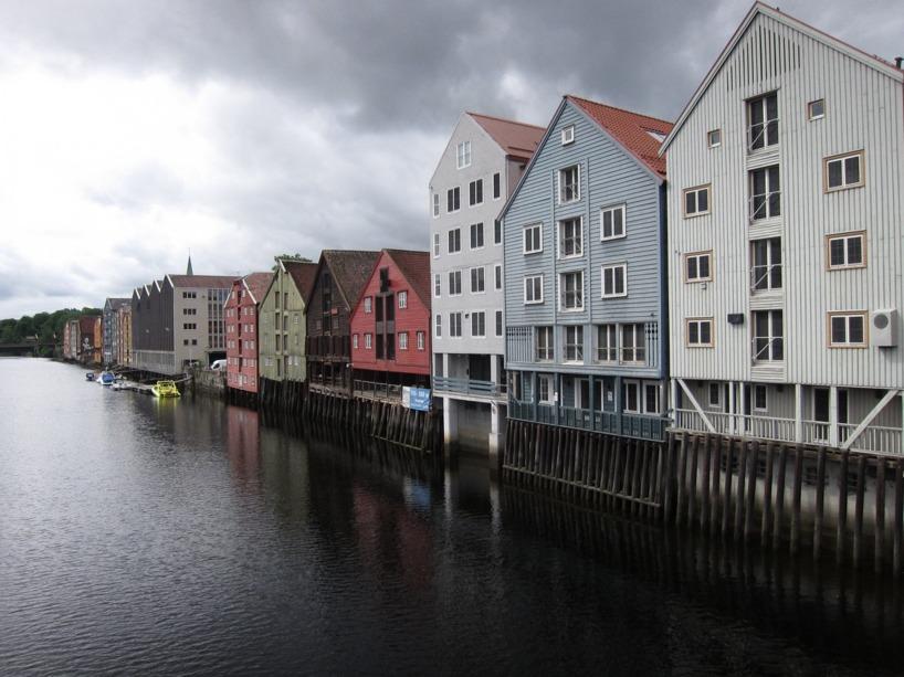 Pittoreskt värre i Trondheim!