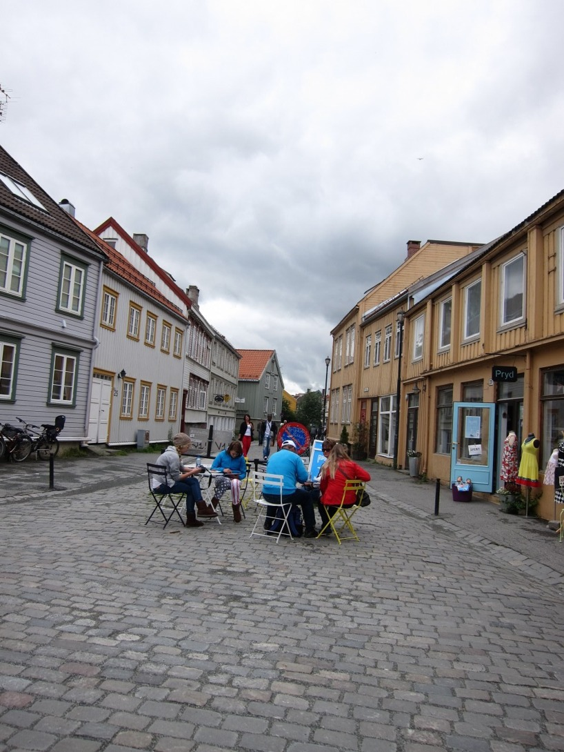 Jaaa, vi gillade Trondheim som sagt :)