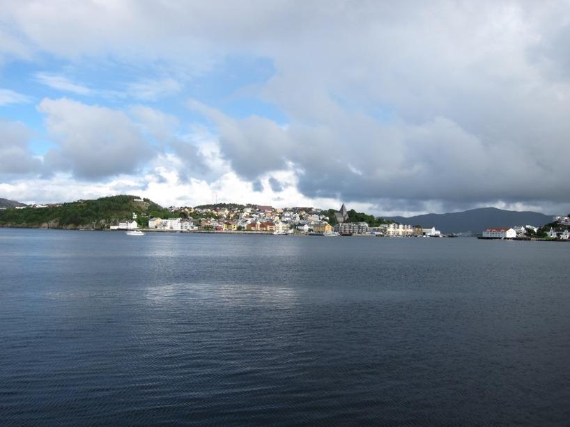 Framme i Kristiansund!