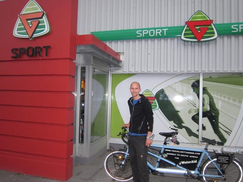 G-Sport levererar