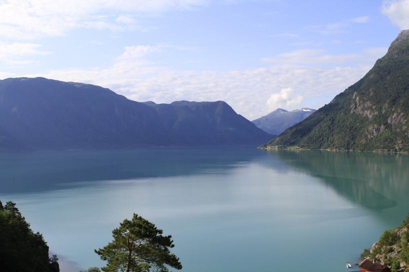 Som sagt - det gäller att ha tur med vädret när man reser i Norge! =)