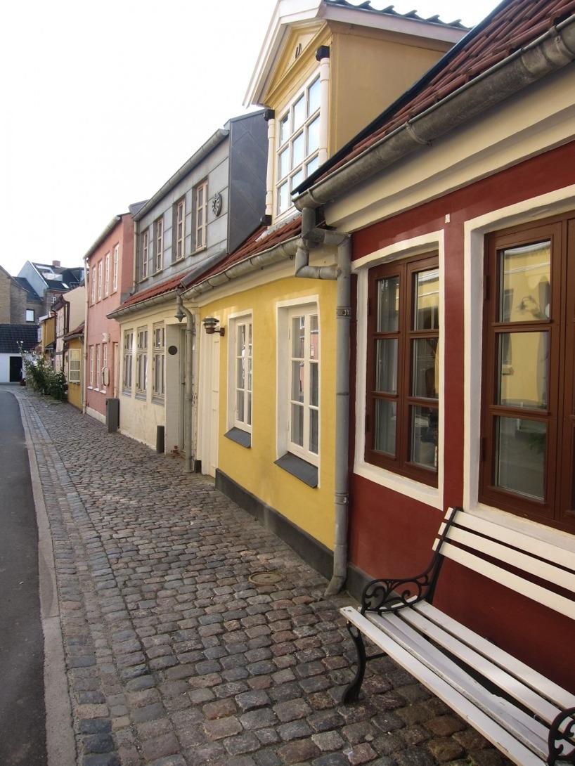 Detta påminner verkligen Sussie om hennes barndoms-stad, Ystad.