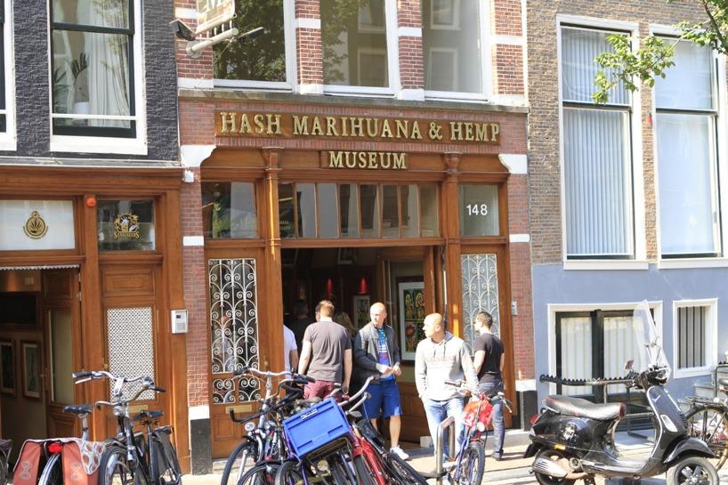 Ett museum ifall intresset av droger är högt - detta ligger i red light district