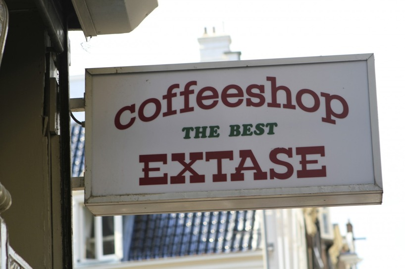 Här säljer man så gott kaffe att man blir upphetsad?