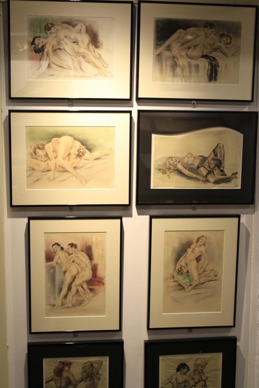 Erotisk konst på det erotiska museumet