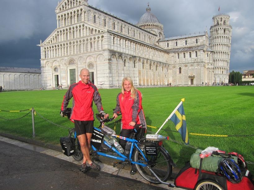 Här har ni det, det lutande tornet i Pisa