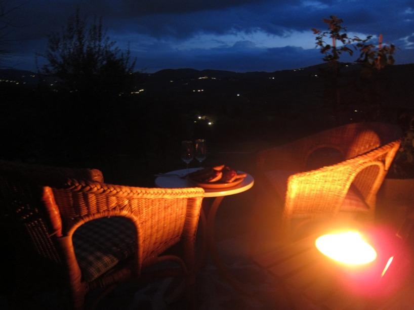 En romantisk kväll i toscana förtjänar vi alla ibland!