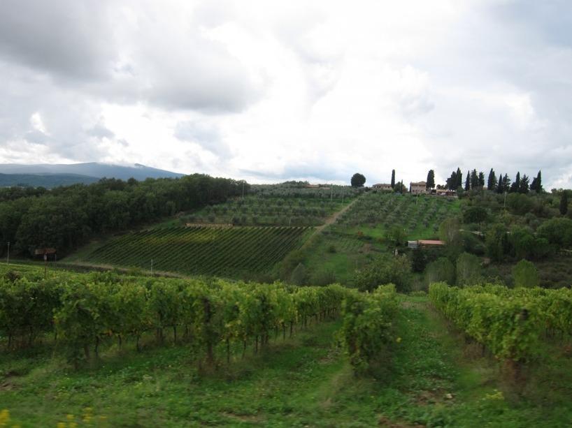 Såhär ser det ut i Toscana