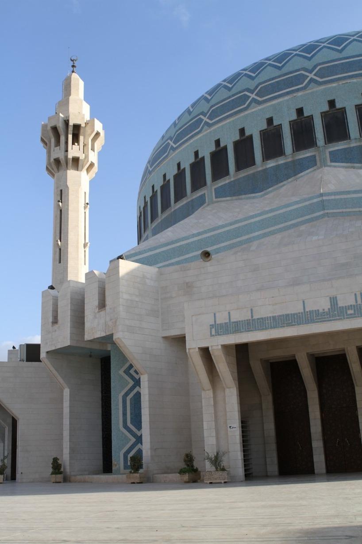 King Abdullah 1 moskén - den största i MellanÖstern!