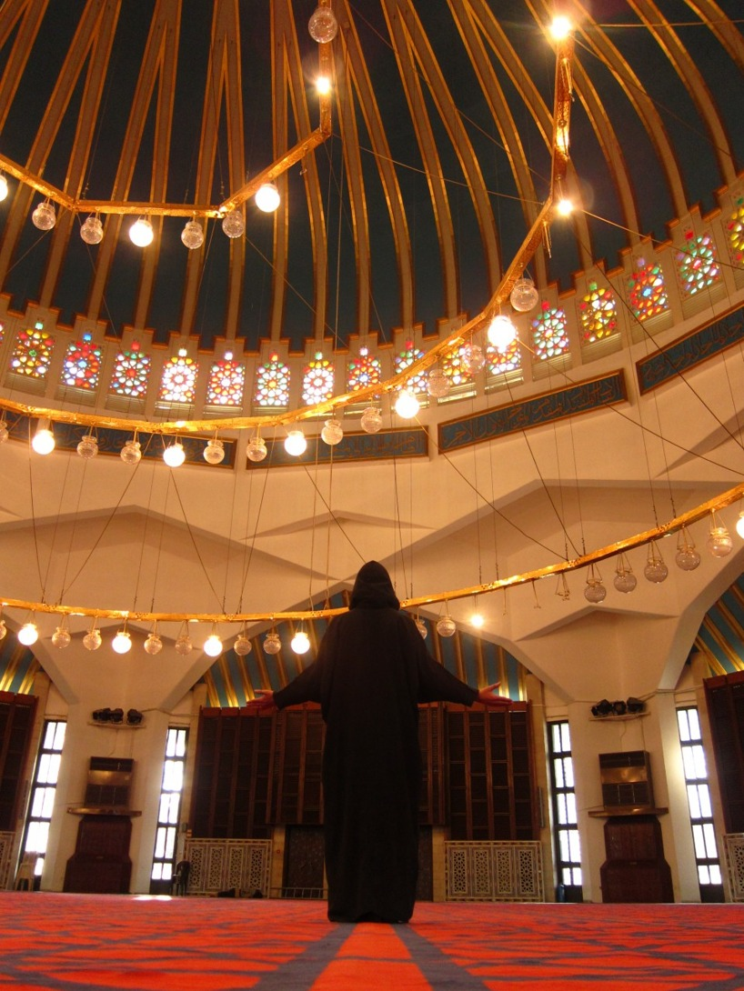 Susanne Engberg i moskén , även kallad Harry Potter