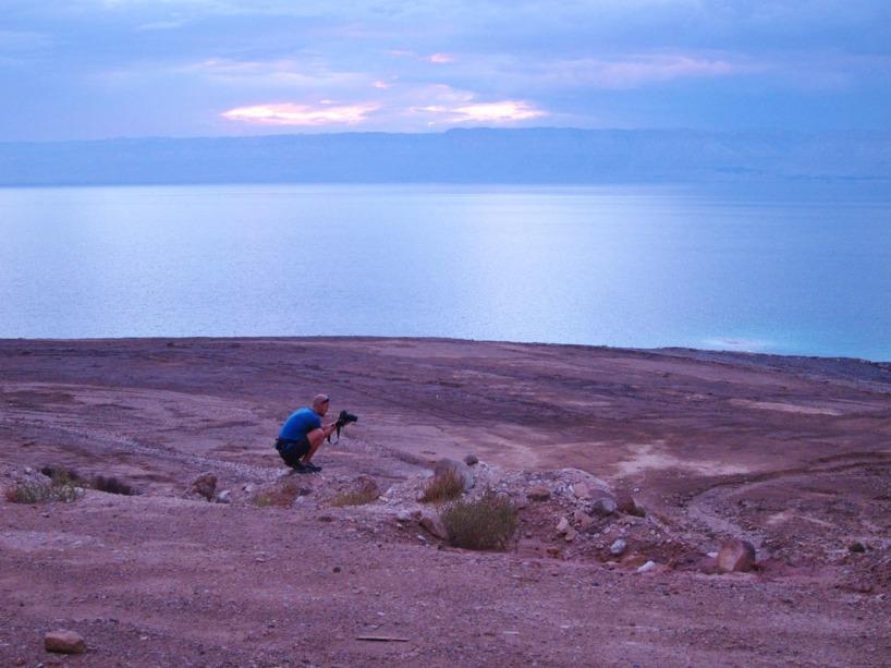 Rasmus har hoppar av cykeln och knäpper nästkommande bild...