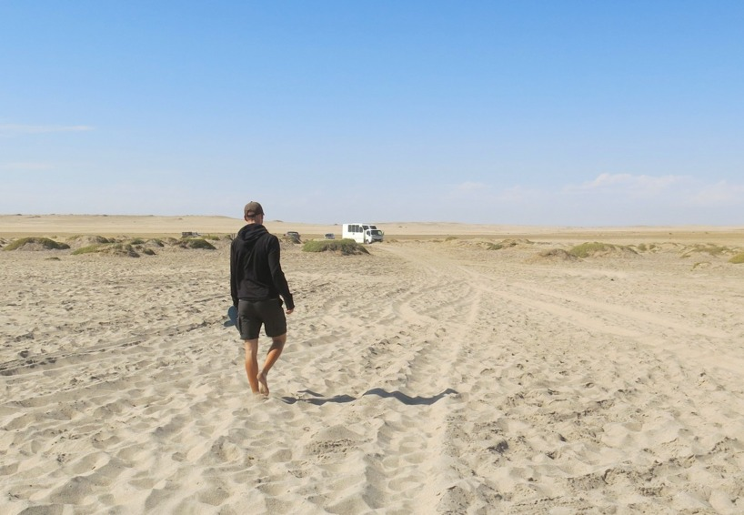 Innan vi begav oss igen för att åka till kuststaden Swakopmund!
