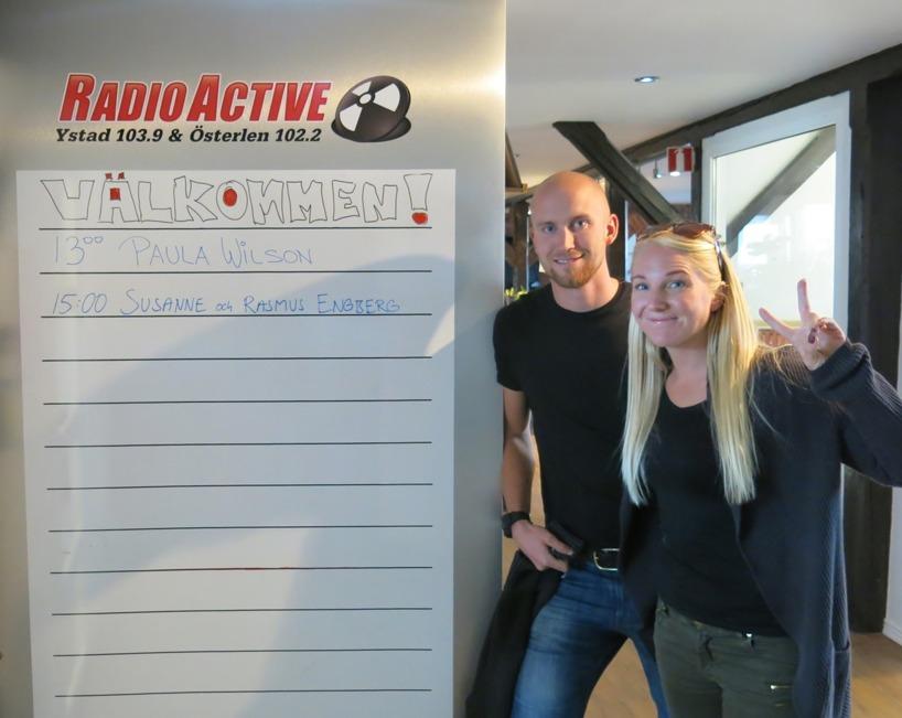 Dags för Radio intrevju!